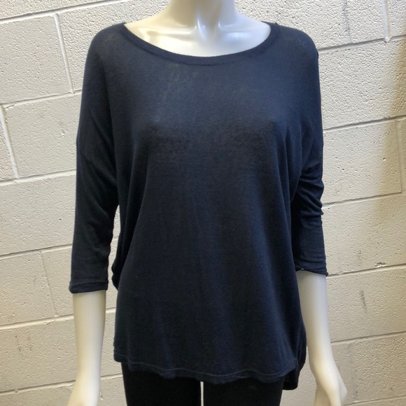 track and field Tops - Track and Field navy sweater, sz s, 59701
